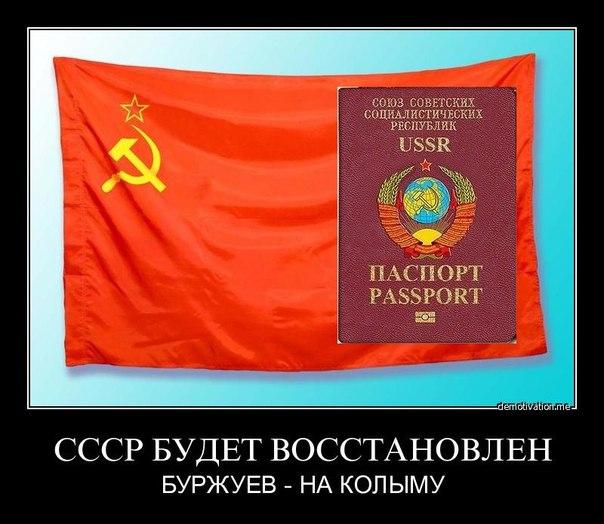 Восстановить СССР?