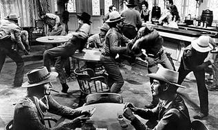 Вторая мировая война как драка в баре
