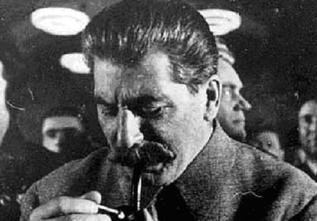 Как Сталин не смог прикурить