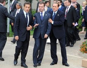 Пьянство лидеров G8 опровергла видеозапись