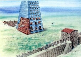 Осадные машины античных войн